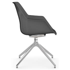 Viasit Repend chair Anthracite side