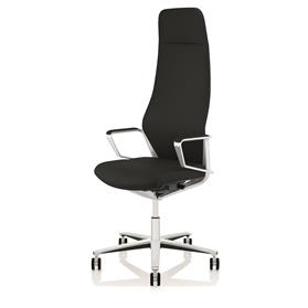 PRE ORDER! Zuco Signo High Backrest Executive Office Chair in Midnight Black Leather
