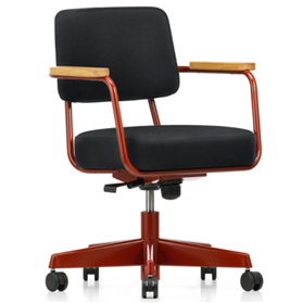 vitra fauteuil direction pivotant jean prouve 1952 office chairs uk