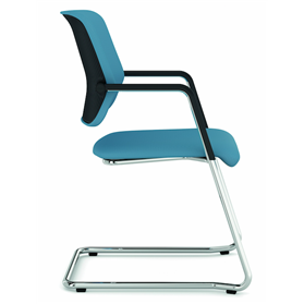 Viasit Drumback Cantilever chair Side