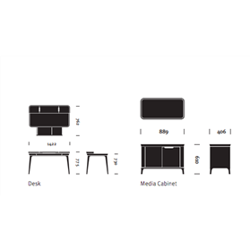 Herman Miller Airia Desk Dimensions
