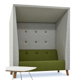Verco Jensen Shelter High Acoustic Sofa