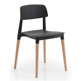 Verco Cleo chair in black