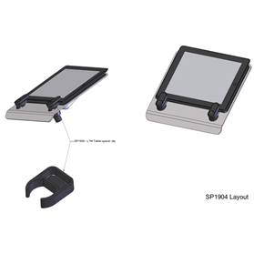 CBS Flo laptop mount