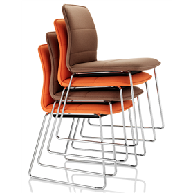 boss design arran stacking chair