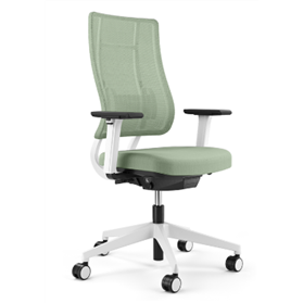 Viasit Newback Office Chair, Telegrey Frame