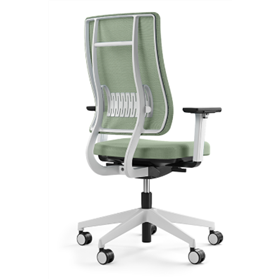 viasit newback chair in white