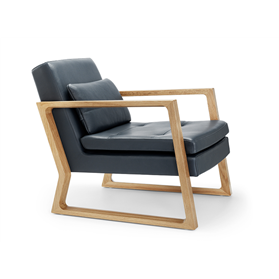 Lyndon Design Luge Armchair Designed by Nick Munro