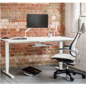 Humanscale Float Sit/Stand Height Adjustable Desk