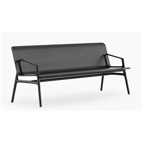 Allermuir Axyl Wooden Shell bench By PearsonLloyd