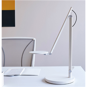 IN STOCK! Humanscale Nova LED Desk Light, Arctic White