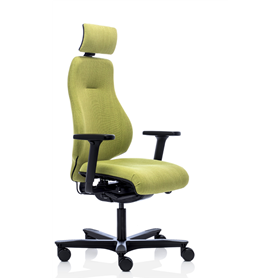 Orangbox Spira Plus Highback Ergonomic Chair with headrest