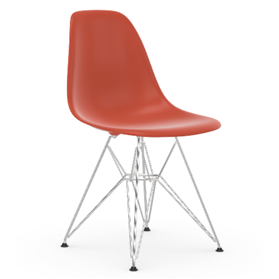 Vitra Eames DSR Chair,Poppy Red