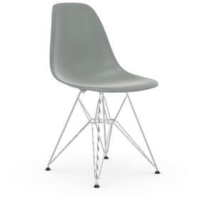 Vitra Eames DSR Chair, Light Grey