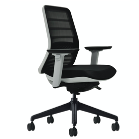 Koplus Tonique Office chair white Frame 1-2 days delivery