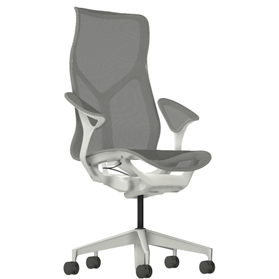 Herman Miller cosm high back studio white