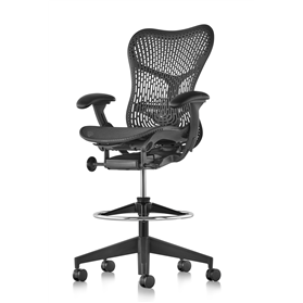 Herman Miller Mirra 2 Stool, TriFlex Graphite Edition
