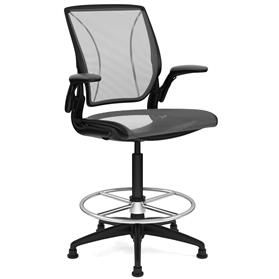 Humanscale Diffrient World High Chair with Footring