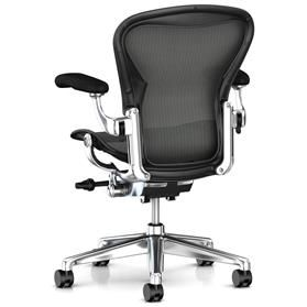 Herman Miller Aeron Remastered Polished Rear No lumbar