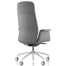 Boss Design Mea High Back Leather Chair Rear