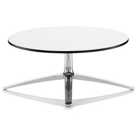 Boss Design Axis White Coffee Table, Laminate