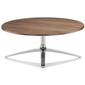 Boss Design Axis Large Black American Walnut Coffee Table