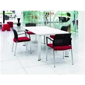 Boss Design Apollo Rectangular Table 4 Leg, Laminate Finish