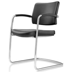 Boss Design Pro Cantilever Meeting Chair designed By Paul Brooks