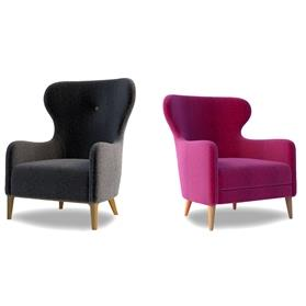 Lyndon Design Mr & Mrs Armchairs