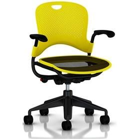 Herman Miller Caper Multipurpose Chair Yellow Black