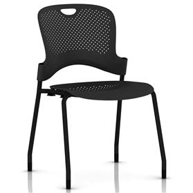 Herman Miller Caper Stacker Chair Black finish
