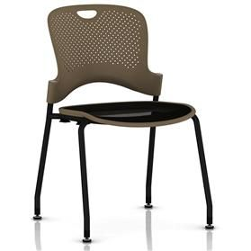 Herman Miller Caper Stacker Chair with Flexnet Seat - Black