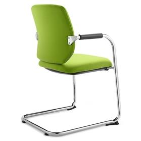 Dauphin Bionic Visitor Cantilever Chair Green