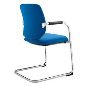Dauphin Bionic Visitor Cantilever Chair Blue
