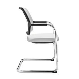 Dauphin Dat-o Mesh Visitor Cantilever Chair Side