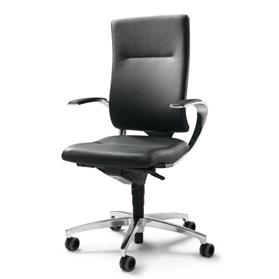 Dauphin InTouch High Back Office Chair Black