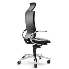 Dauphin InTouch High Back Swivel Chair with Neckrest Back