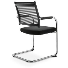 Dauphin Lordo Cantilever Visitor Chair Back
