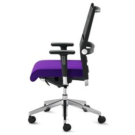 Dauphin Lordo High Back Office Chair Side
