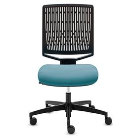 Dauphin My-self Membrane Back Swivel Chair Blue