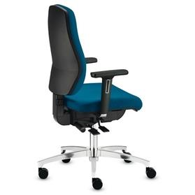 Dauphin Shape Economy High Back Office Chair Side