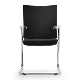 Girsberger Diagon Cantilever Chair Rear