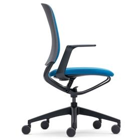 Sedus se motion swivel office chair upholstered black