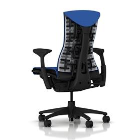 Herman Miller Embody Balance Berry Blue Rear