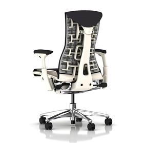 Herman Miller Embody White Balance Carbon Rear