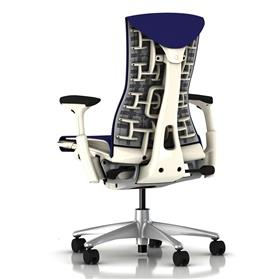 Herman Miller Embody White Iris Rhythm Back