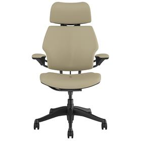 humanscale freedom corvara mineral leather