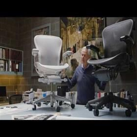 Don Chadwick Presents New Aeron Chair