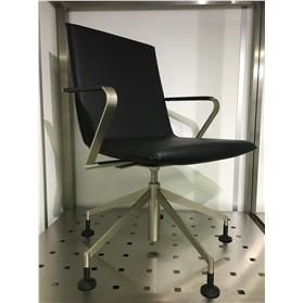 Girsberger Jack Leather Swivel Chair (Ex Showroom Sample)