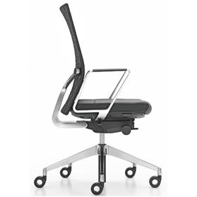 Girsberger Diagon Office Chair Woven Bands Side
